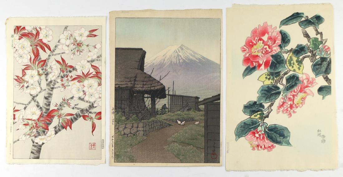 (3pc) JAPANESE WOODBLOCK PRINTS
