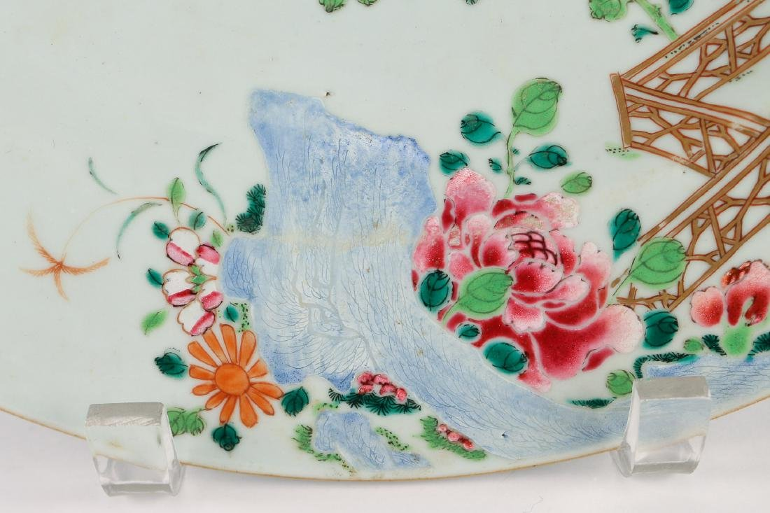 CHINESE EXPORT PORCELAIN CHARGER - 5