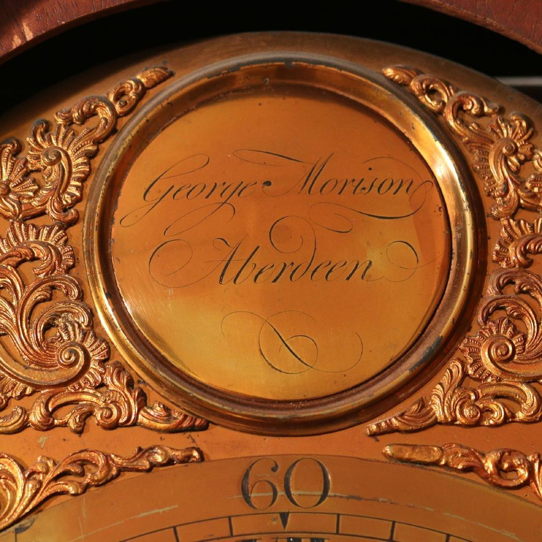 GEORGE III SCOTTISH TALL CASE CLOCK - 3
