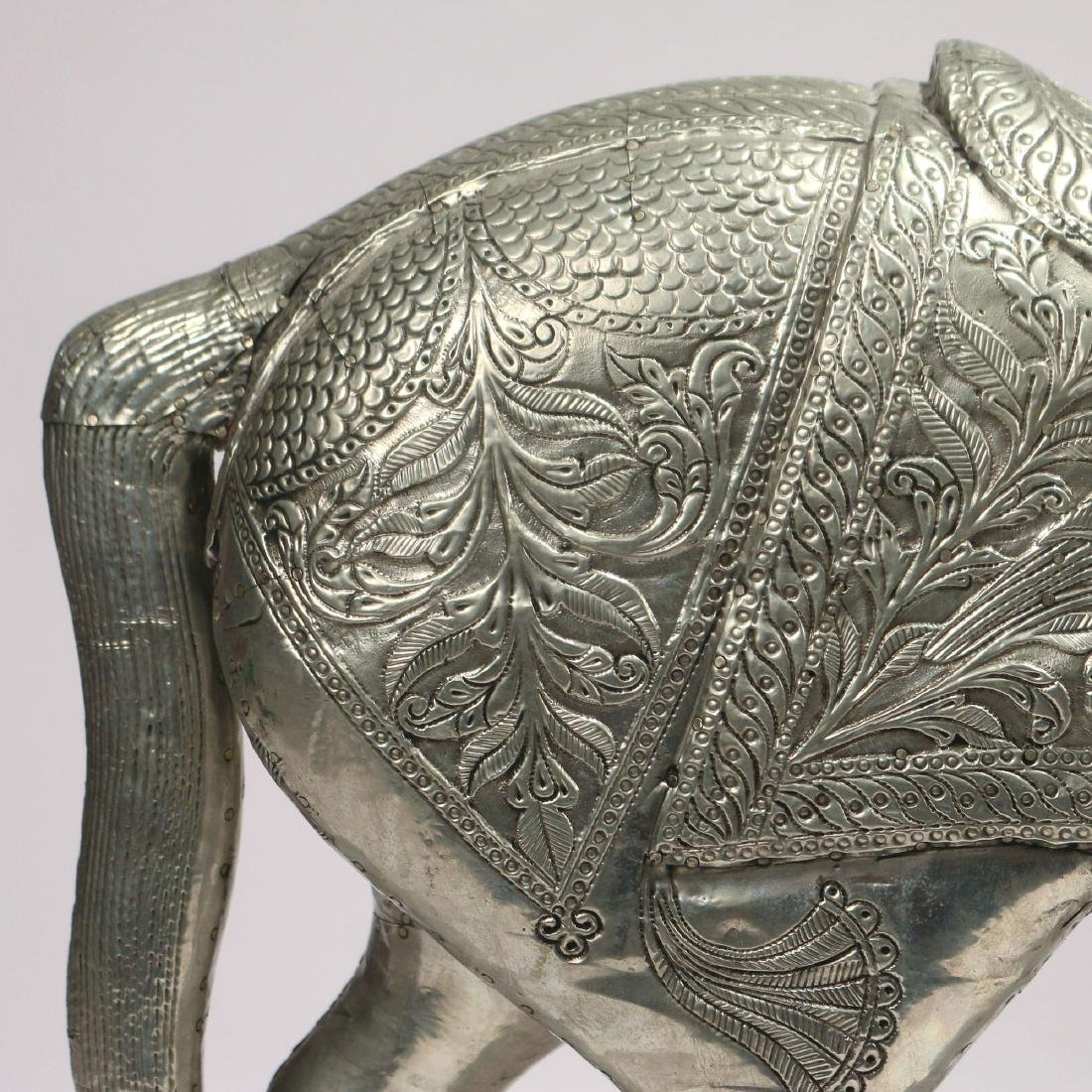 DAMASCUS SILVER FIGURE OF A HORSE - 5