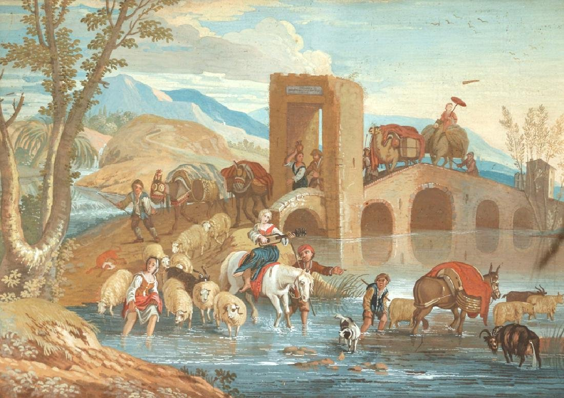 CONTINENTAL SCHOOL LANDSCAPE, 18th Century