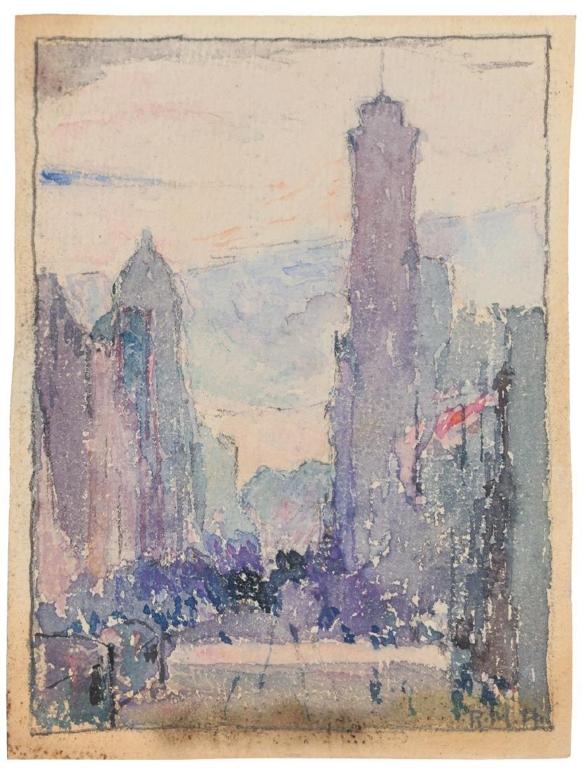 ROWENA MEEKS ABDY (American, 1887-1945)