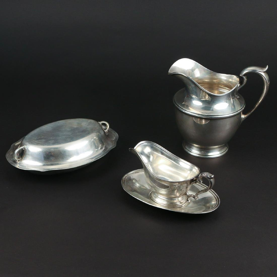 (3pc) STERLING SILVER HOLLOWARE