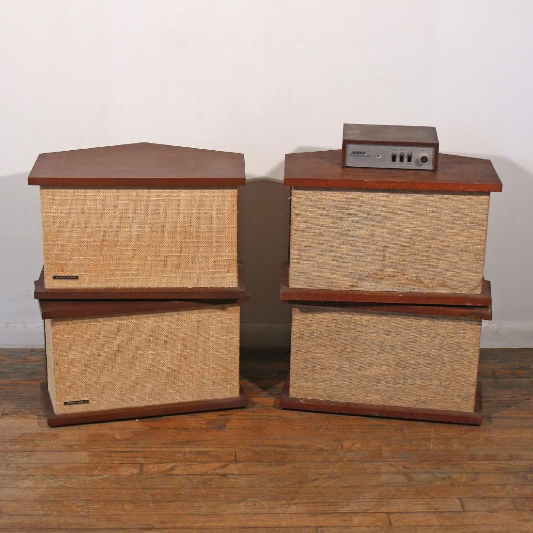 (4pc) TWO PAIRS OF BOSE SPEAKERS