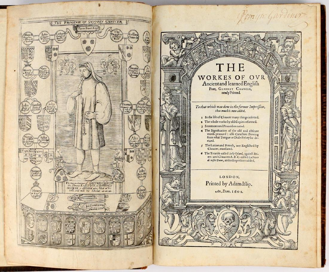 CHAUCER, GEOFFREY [The Workes, 1602]