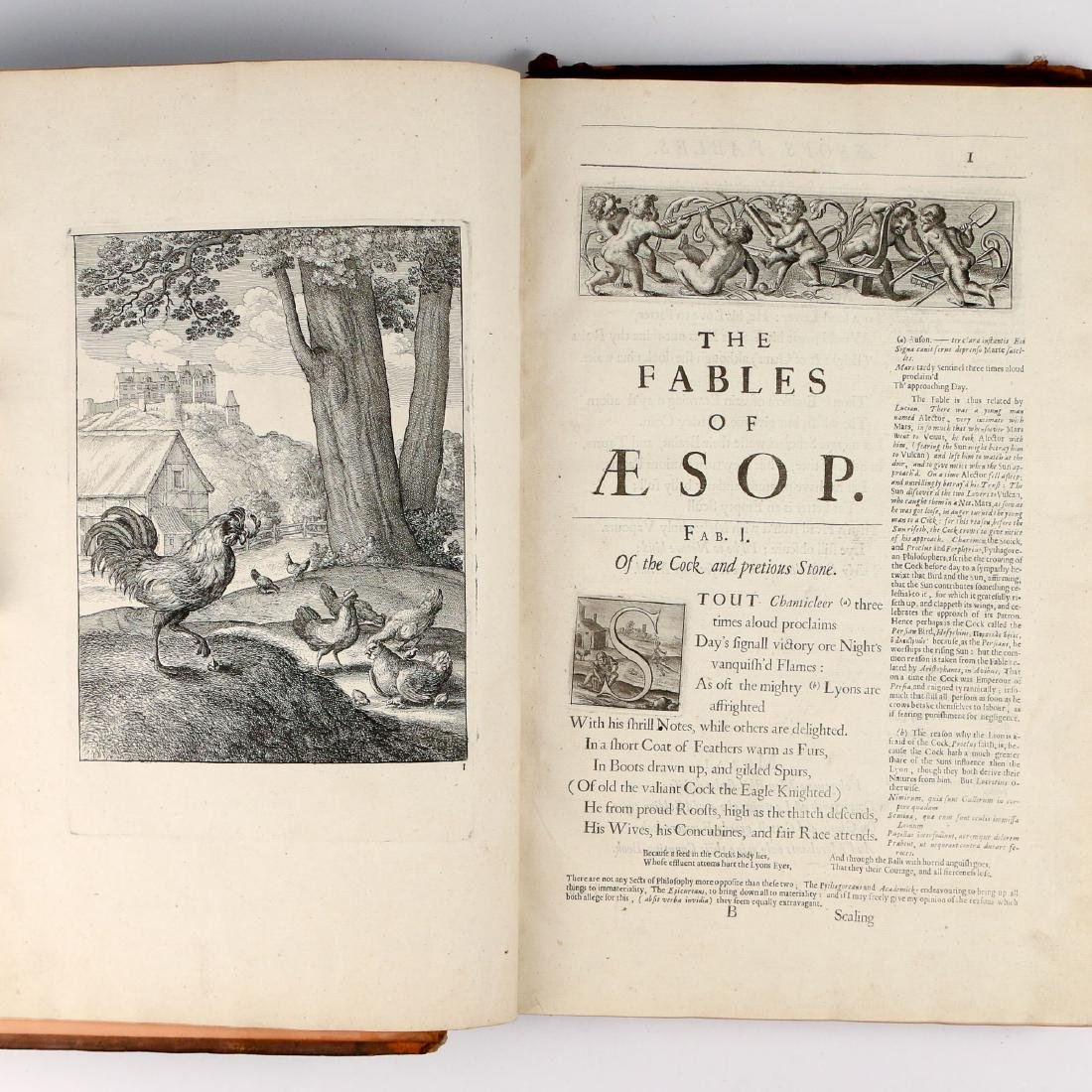 AESOP'S FABLES [FIRST FOLIO EDITION, 1665]