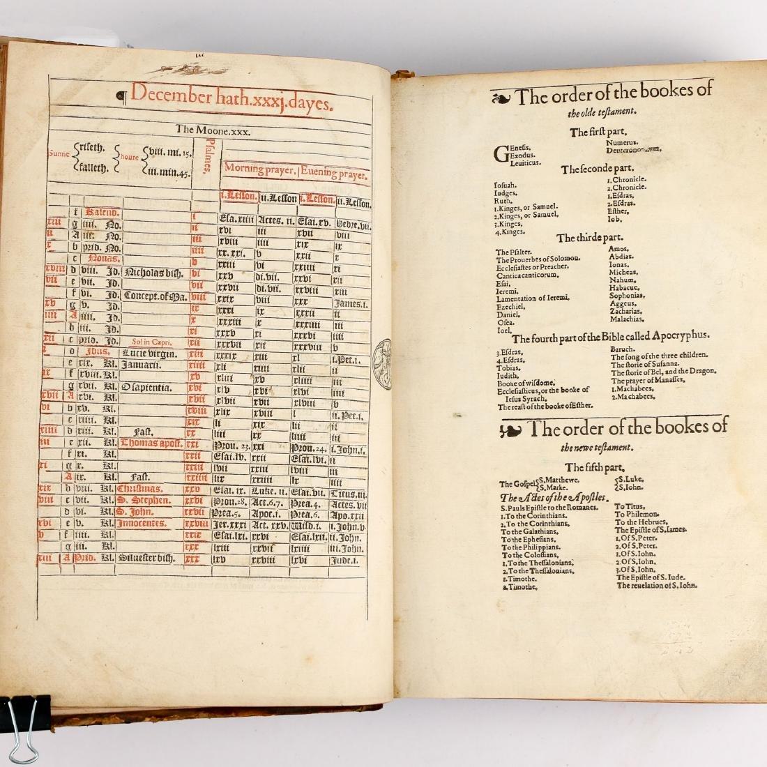 [FRANCIS FRY COPY] BISHOPS' BIBLE [1572] - 10