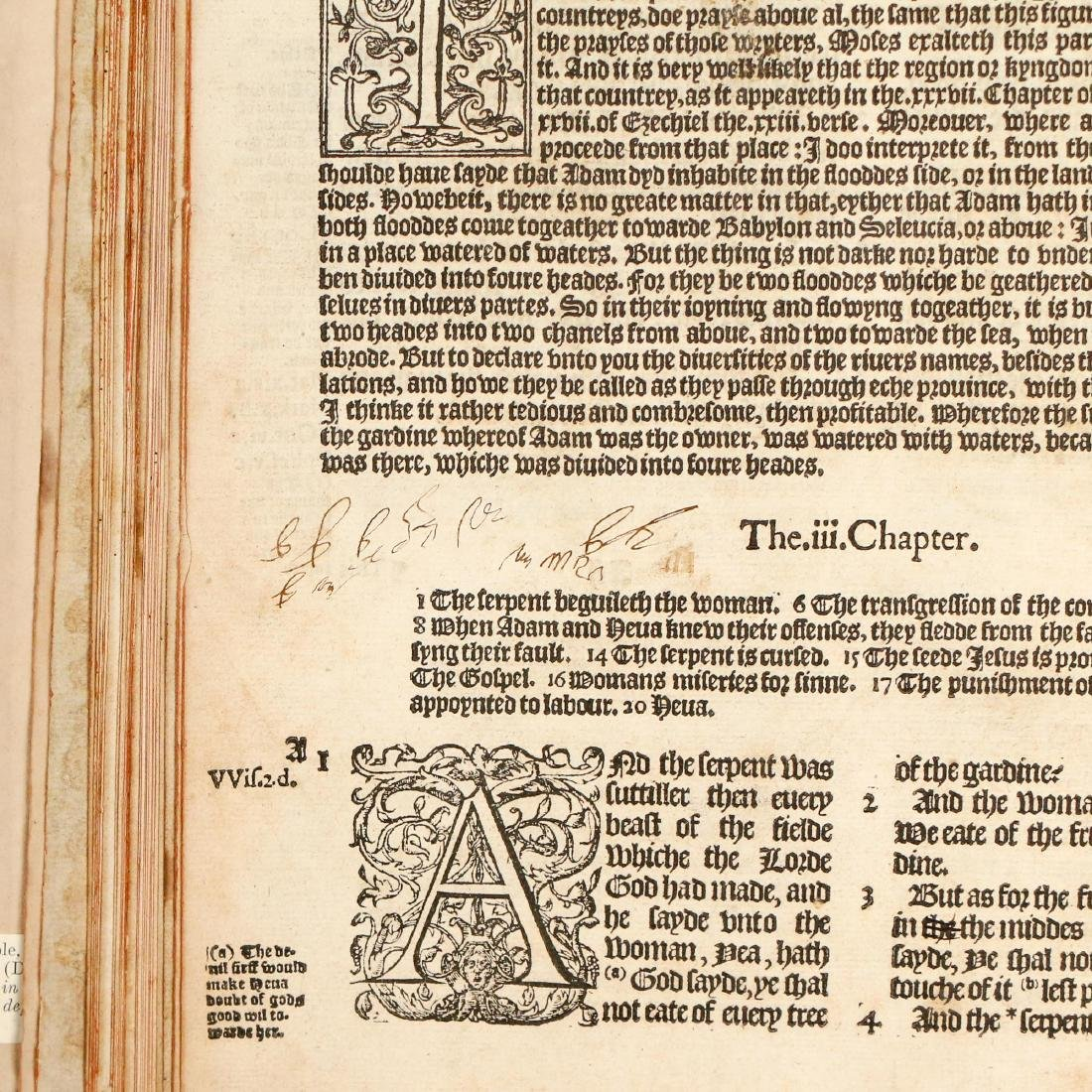 [FRANCIS FRY COPY] BISHOPS' BIBLE [1572] - 15