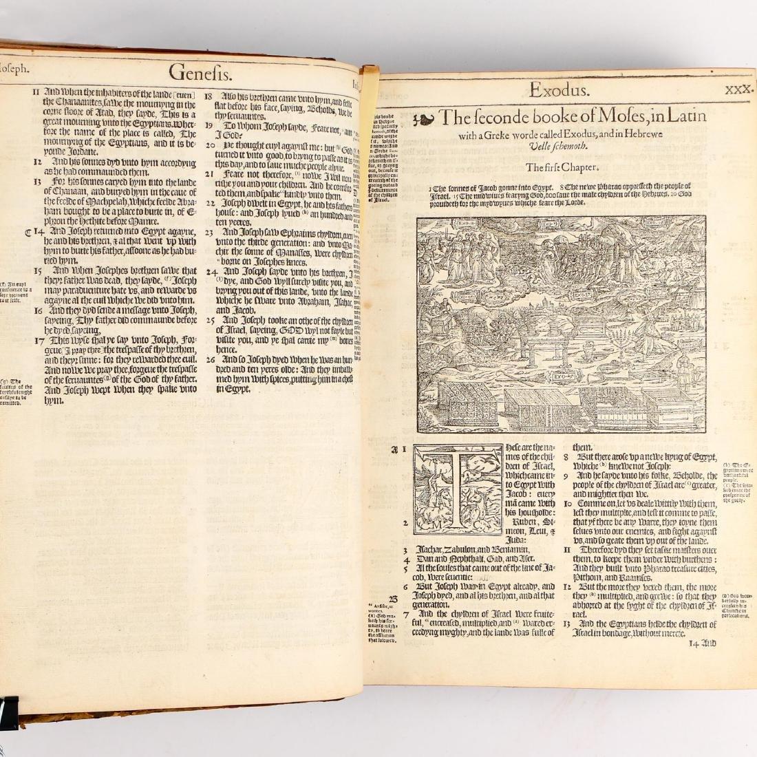 [FRANCIS FRY COPY] BISHOPS' BIBLE [1572] - 16