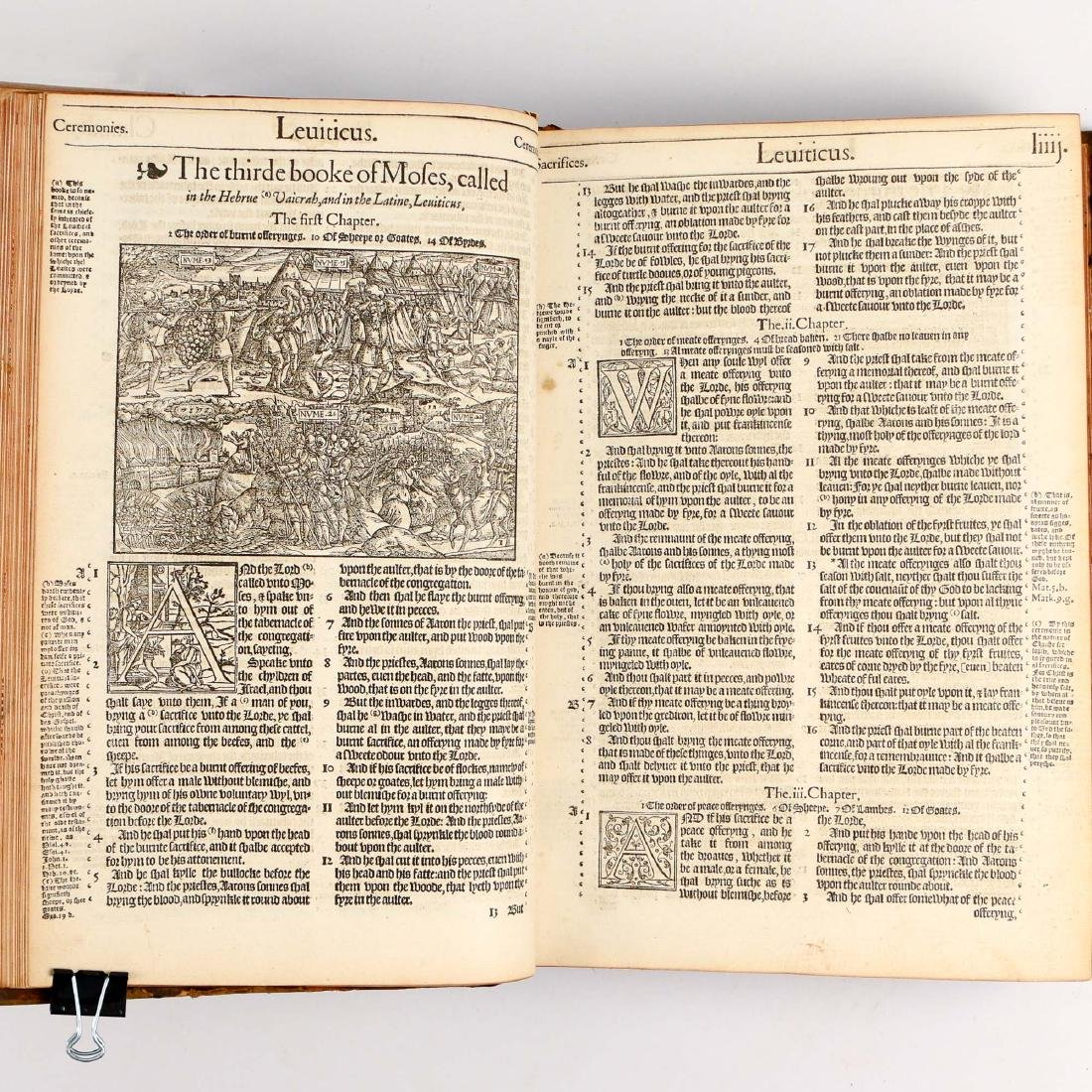 [FRANCIS FRY COPY] BISHOPS' BIBLE [1572] - 17