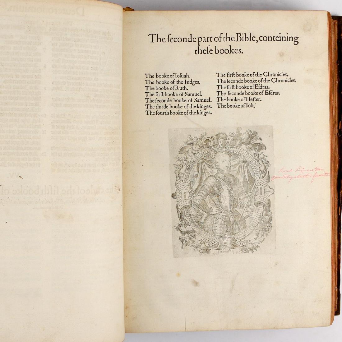 [FRANCIS FRY COPY] BISHOPS' BIBLE [1572] - 18