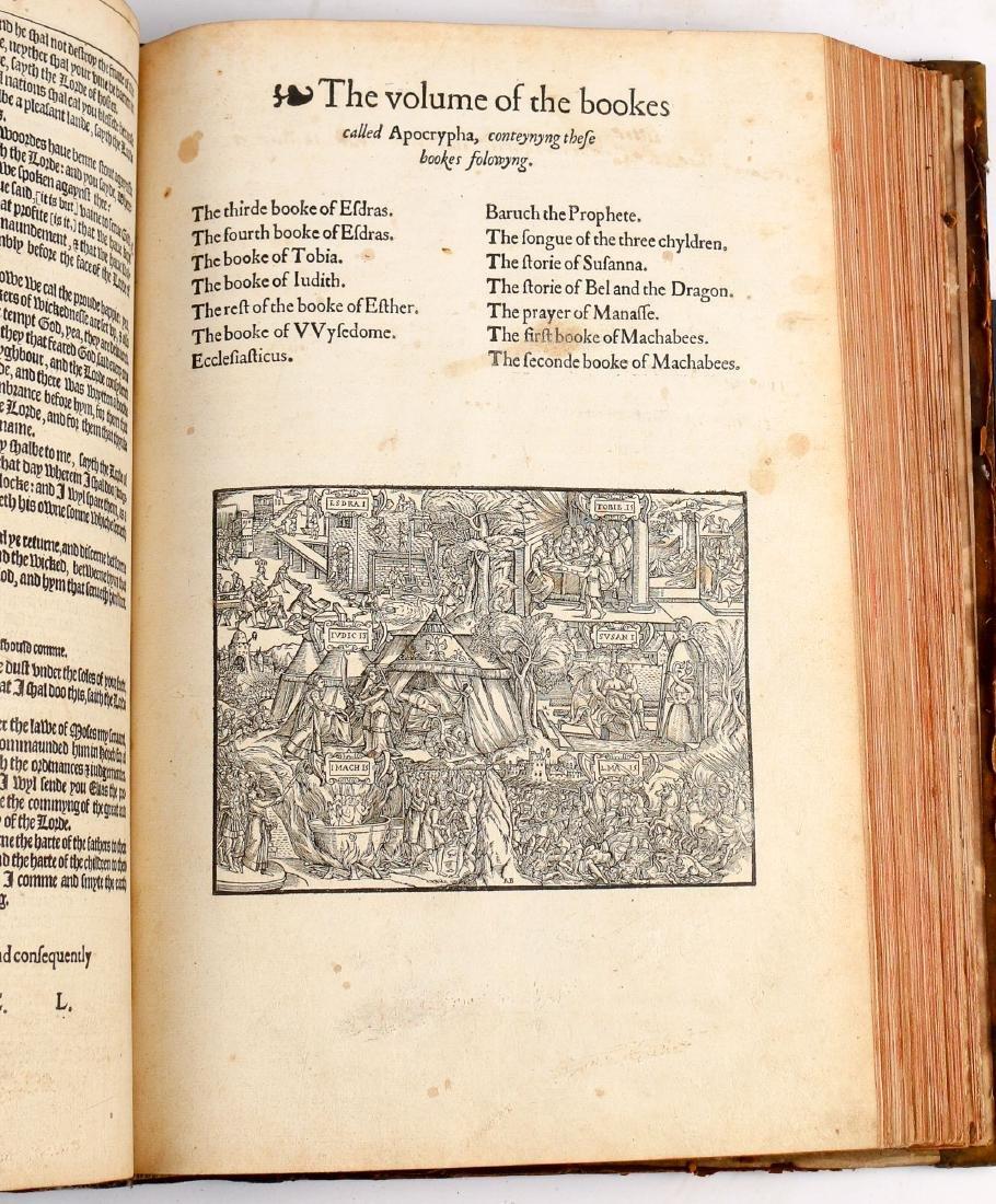 [FRANCIS FRY COPY] BISHOPS' BIBLE [1572] - 20