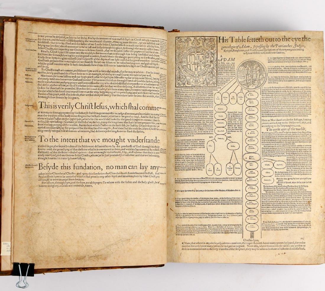 [FRANCIS FRY COPY] BISHOPS' BIBLE [1572] - 5