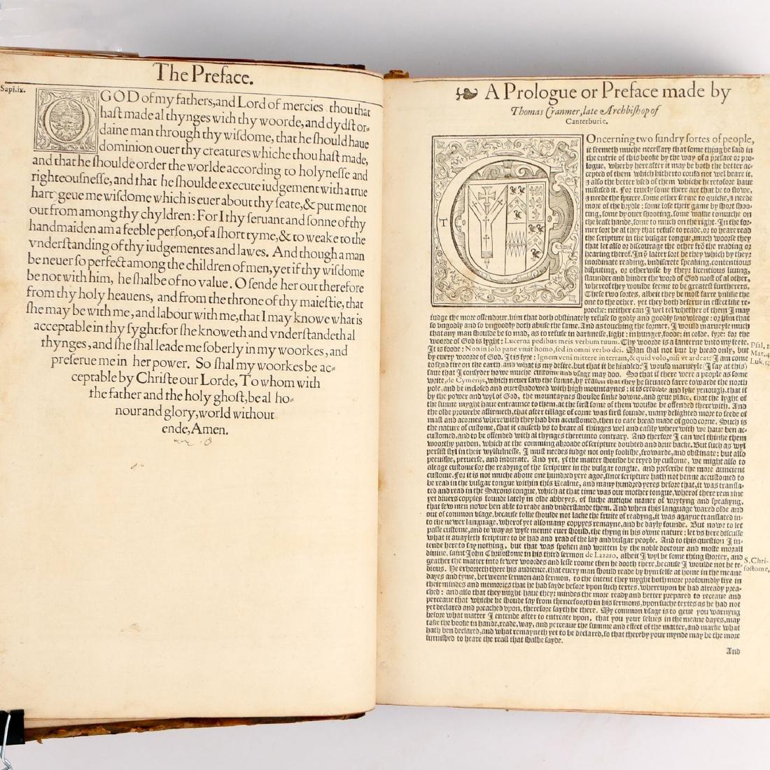 [FRANCIS FRY COPY] BISHOPS' BIBLE [1572] - 6
