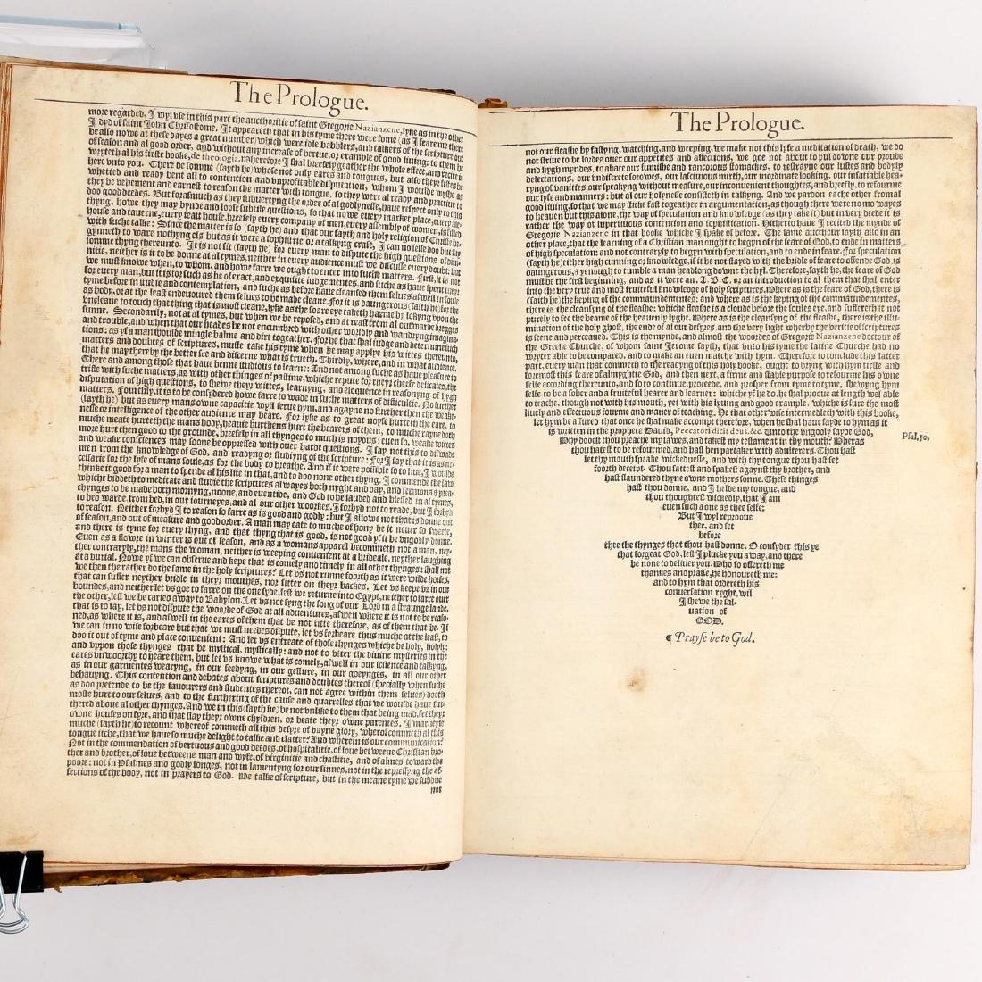 [FRANCIS FRY COPY] BISHOPS' BIBLE [1572] - 8