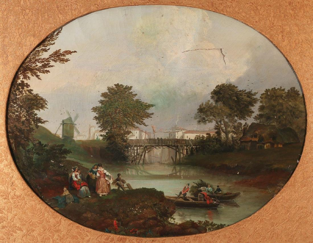 CONTINENTAL SCHOOL LANDSCAPE, 19th Century