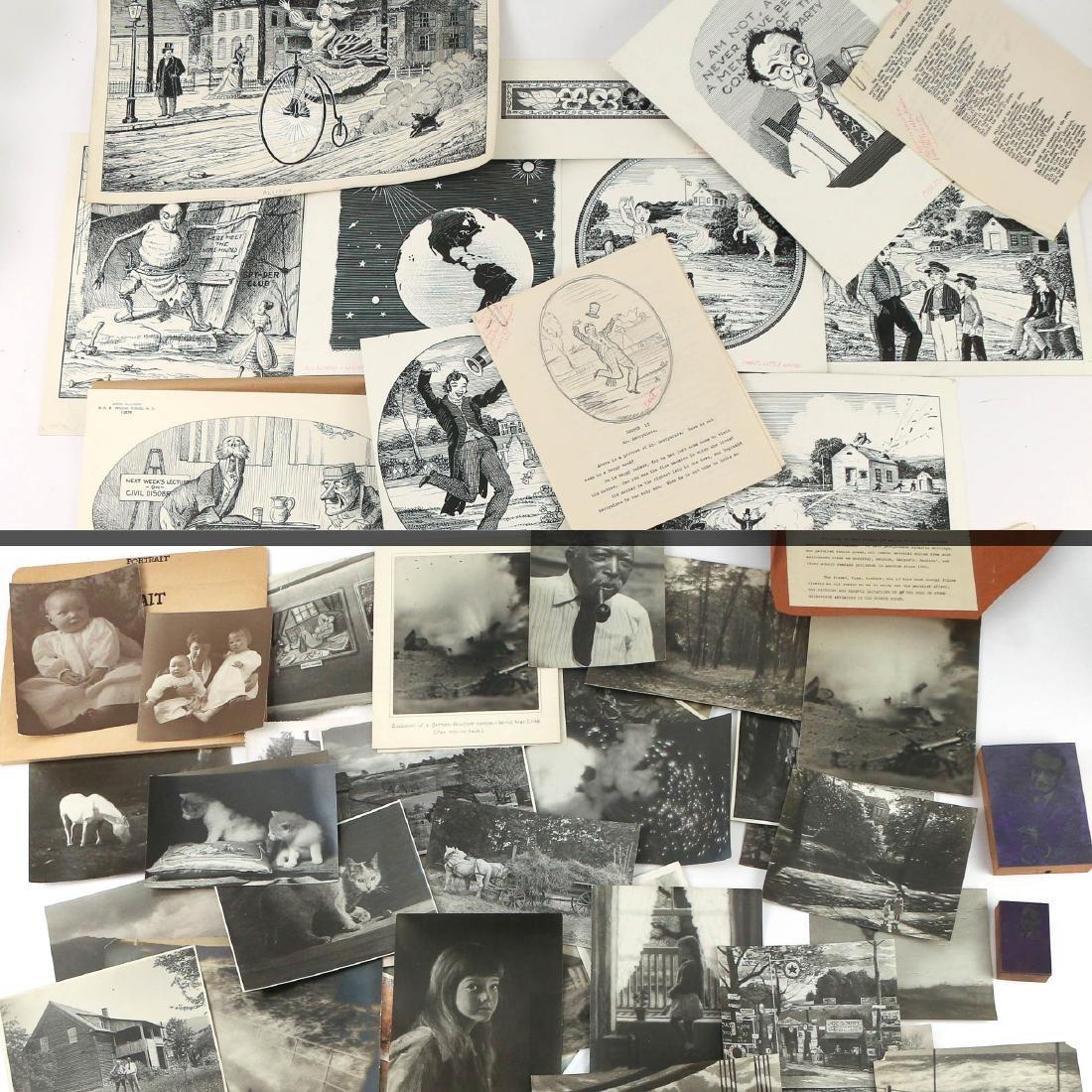 JOHN ALLISON DRAWINGS, PHOTOGRAPHS, & OTHER