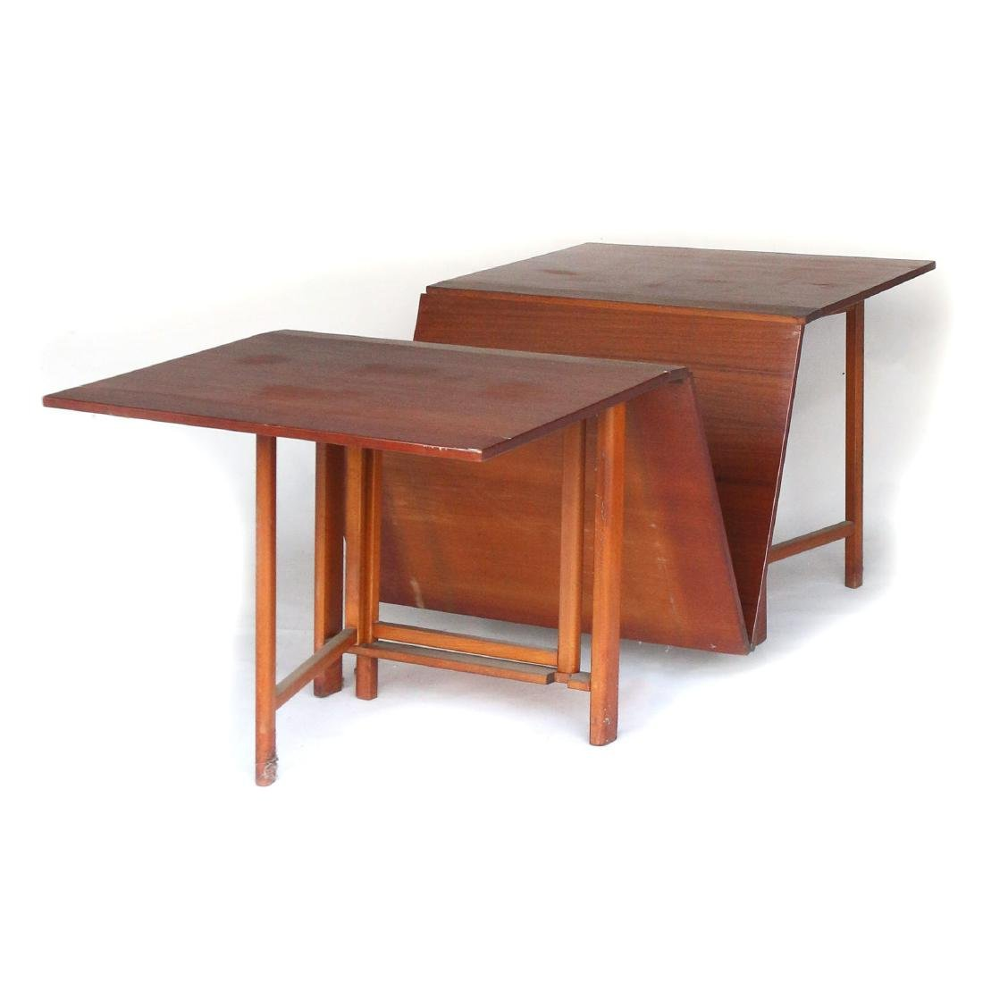 STYLE OF BRUNO MATTHSON DINING TABLE