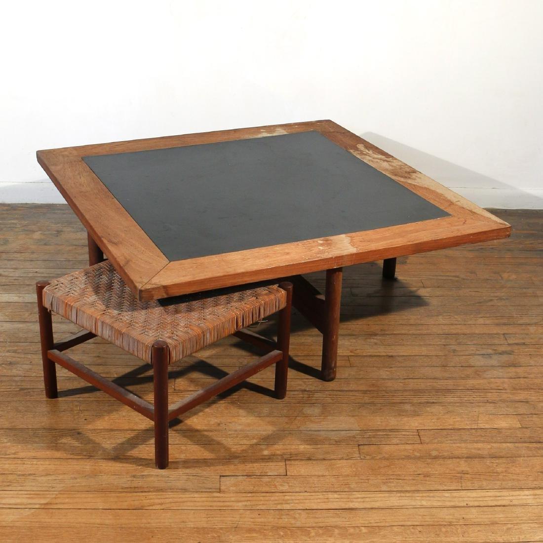 (2pc) AXEL THYGESEN / INTERNA SOFA TABLE & STOOL