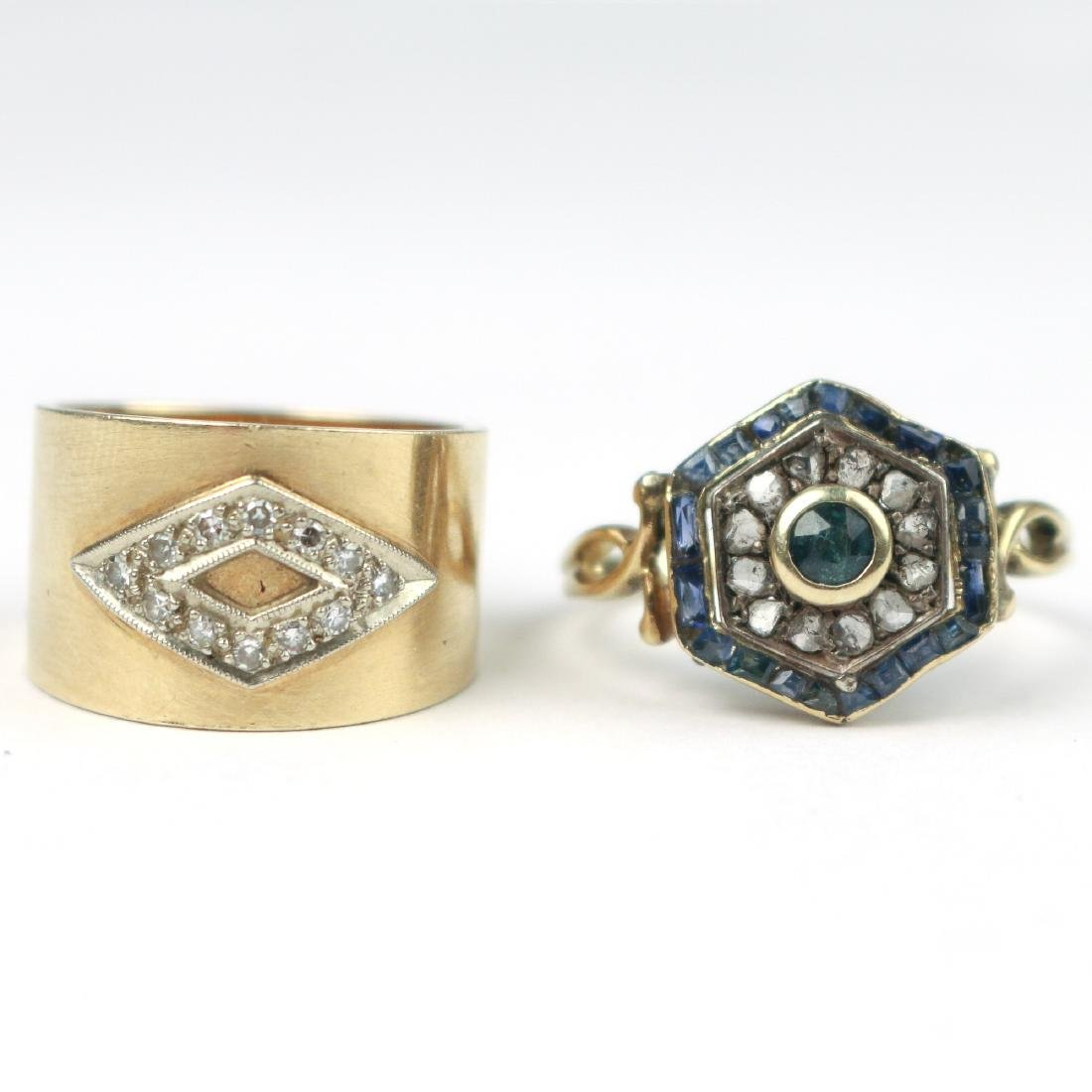 (2pc) GOLD RINGS