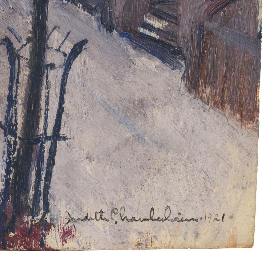 (2pc) JUDITH CHAMBERLAIN (American, 1893-1965) - 4