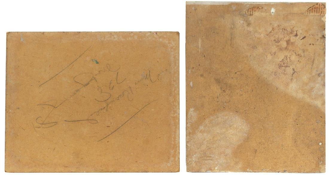 (2pc) JUDITH CHAMBERLAIN (American, 1893-1965) - 5