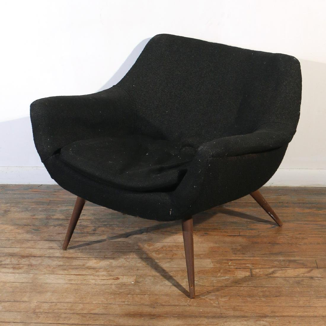 LAWRENCE PEABODY SCULPTURAL LOUNGE CHAIR