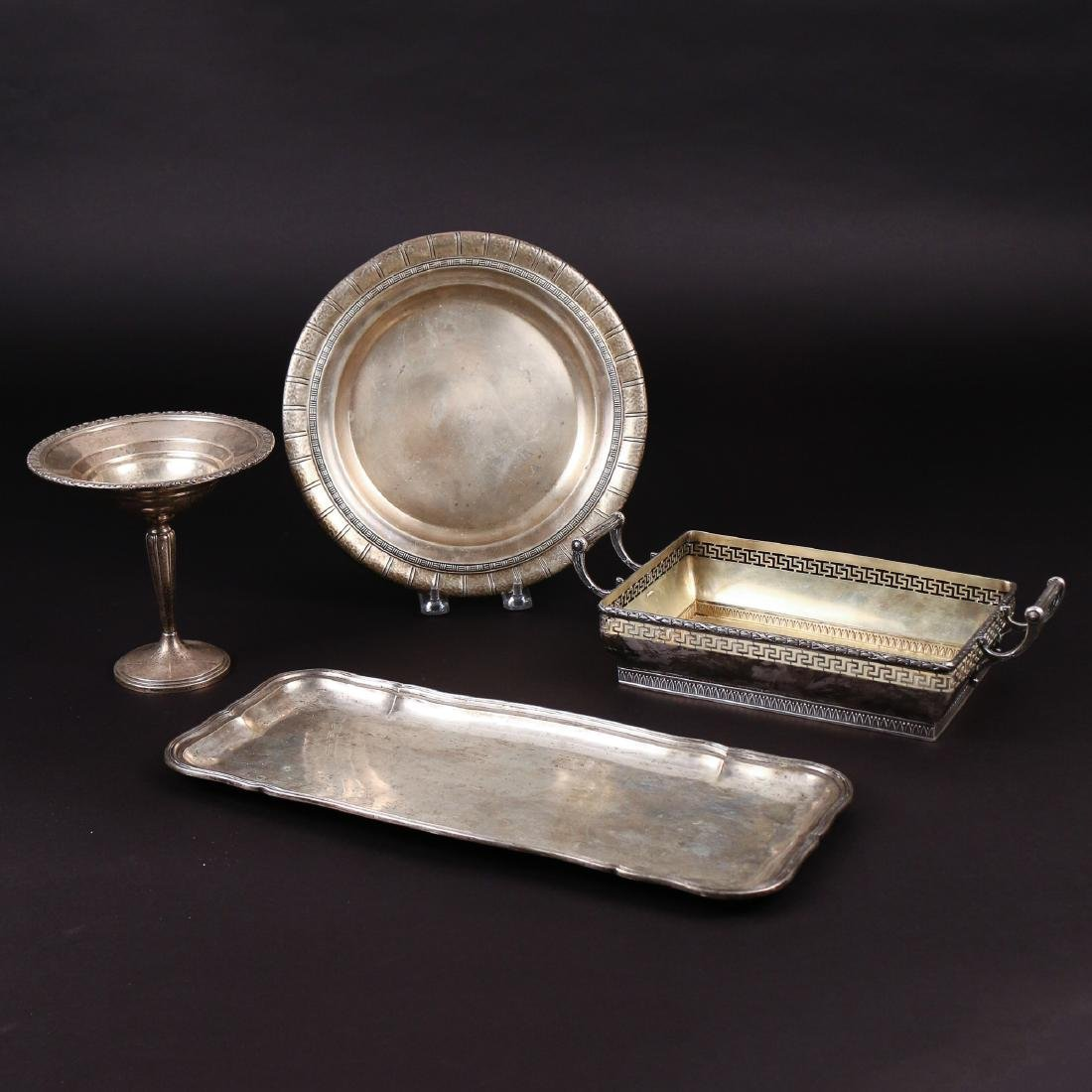 (4pc) STERLING & '800' SILVER ITEMS