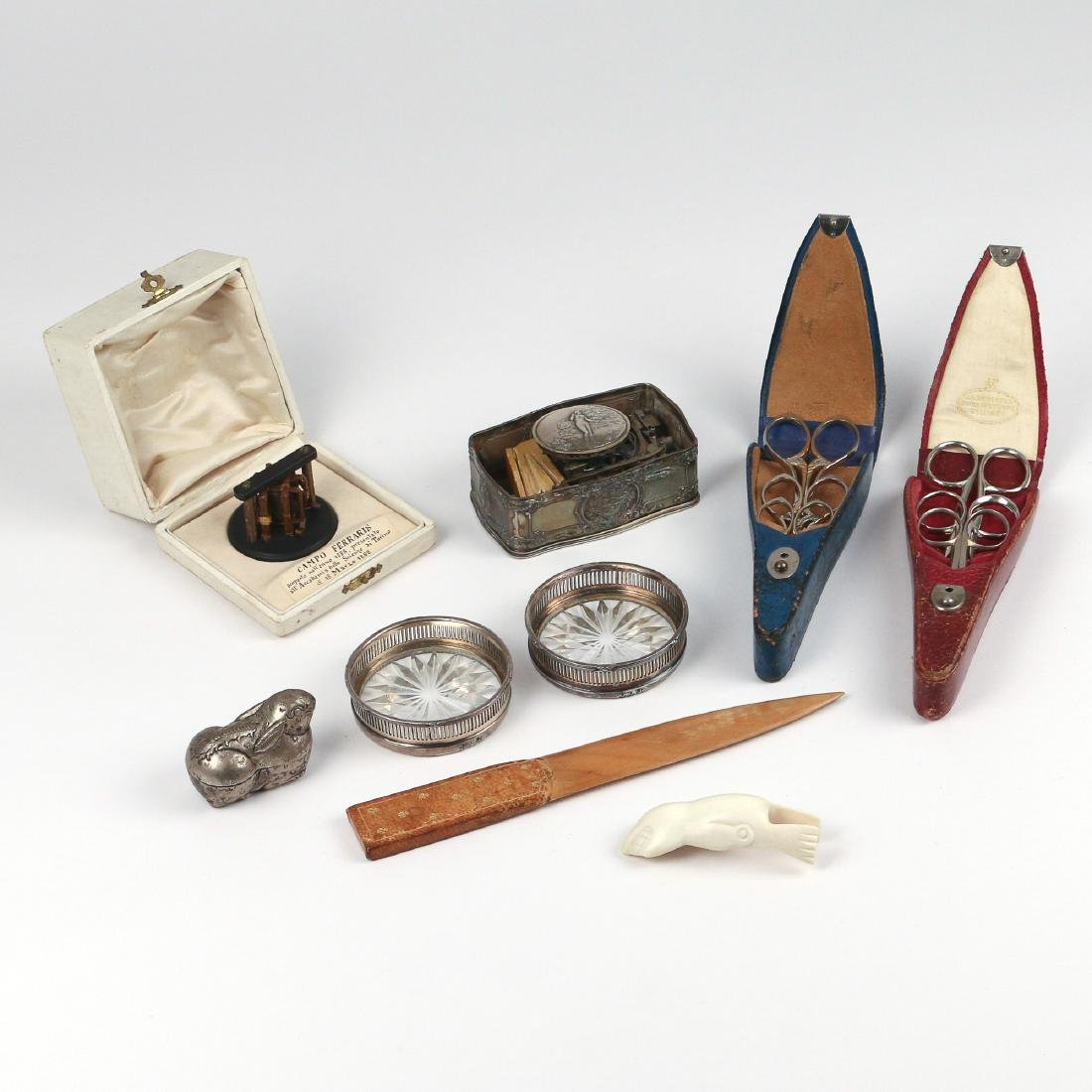 (9pc) MISC. DESK ITEMS & OTHER