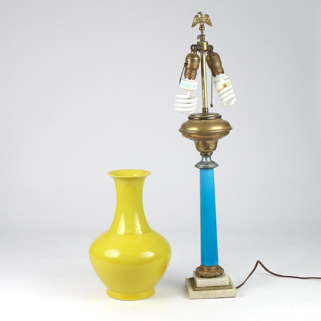 (2pc) MISC. TABLE LAMPS