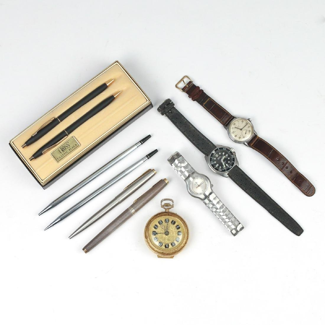 (10pc) WATCHES & PENS