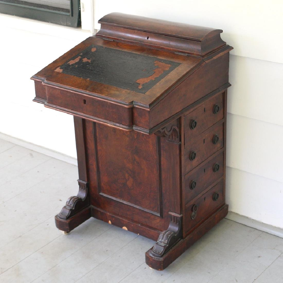 ENGLISH DAVENPORT DESK