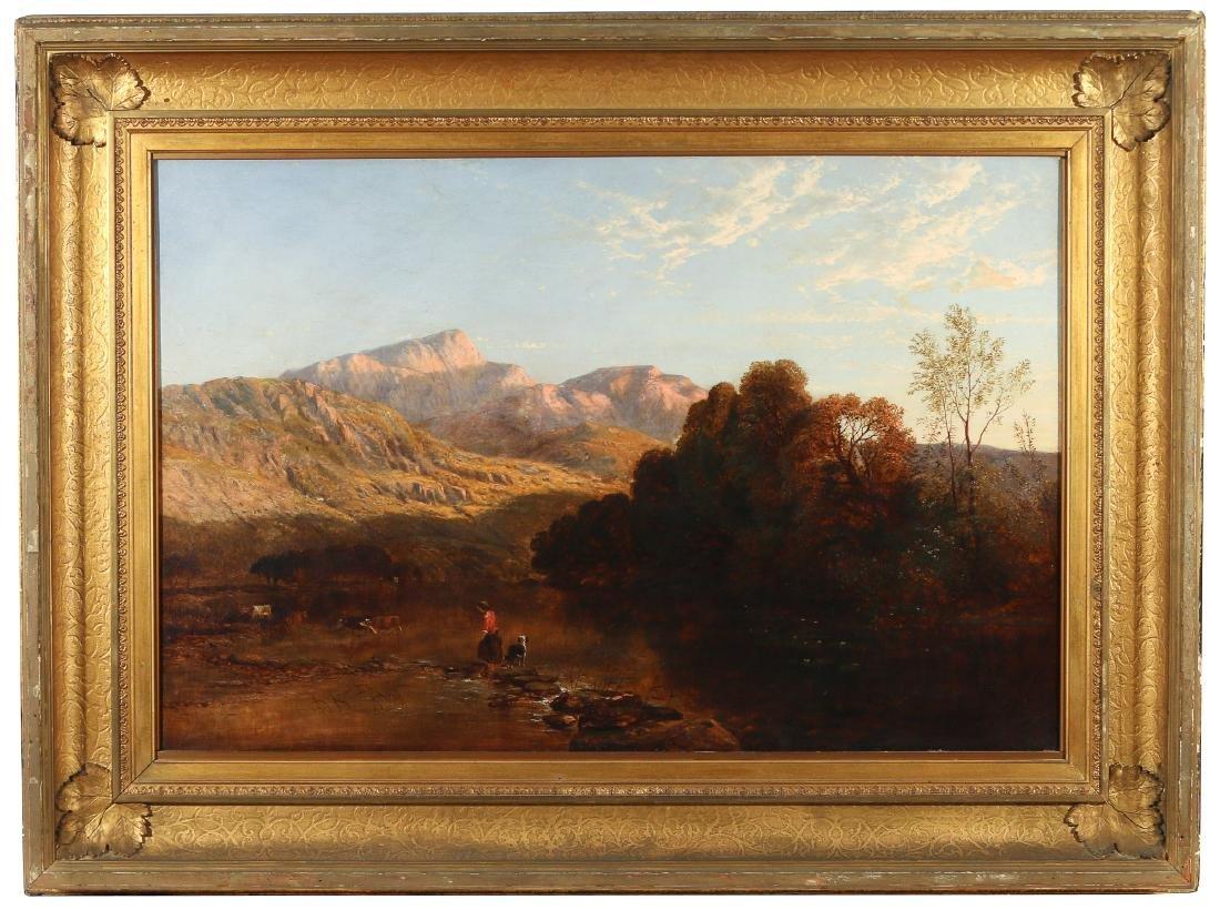 (ATTRIB) EDMUND DARCH LEWIS (Amer., 1835-1910) - 2