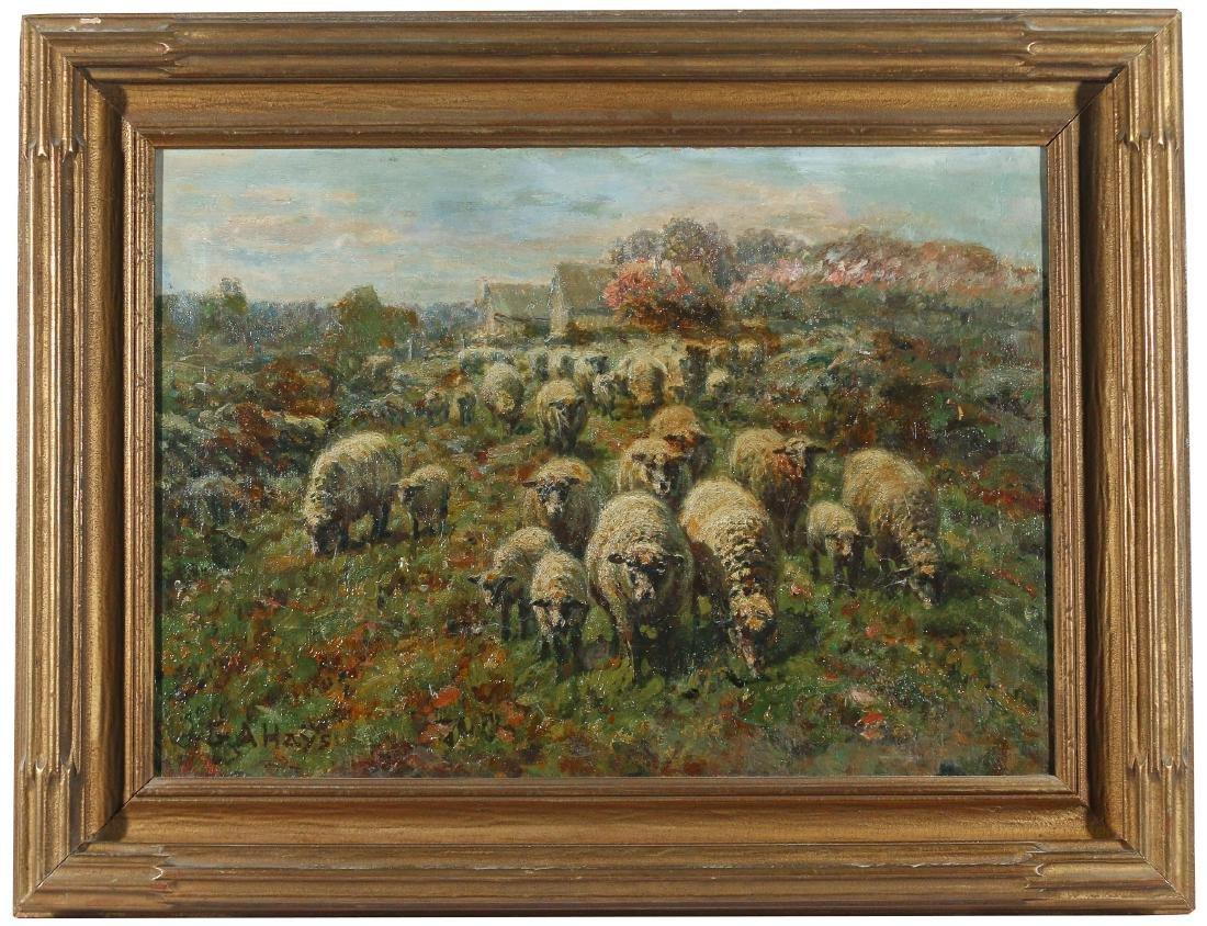 GEORGE ARTHUR HAYS (American, 1854-1945) - 2