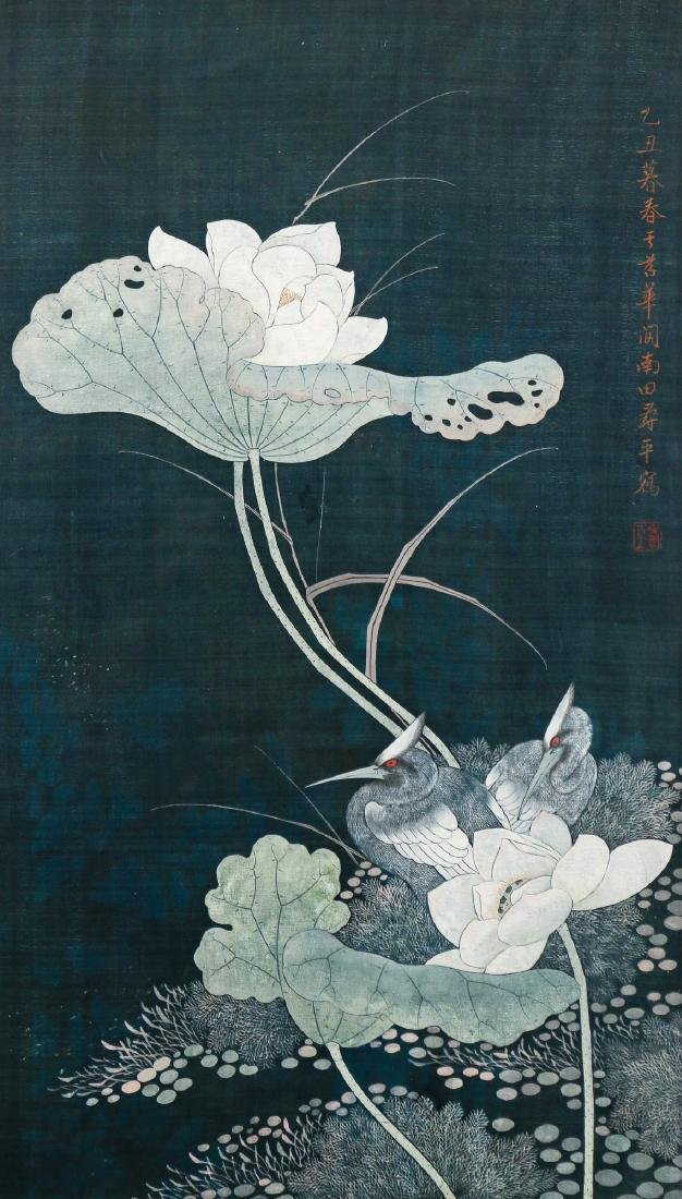 CHINESE / JAPANESE SCROLL PAINTING