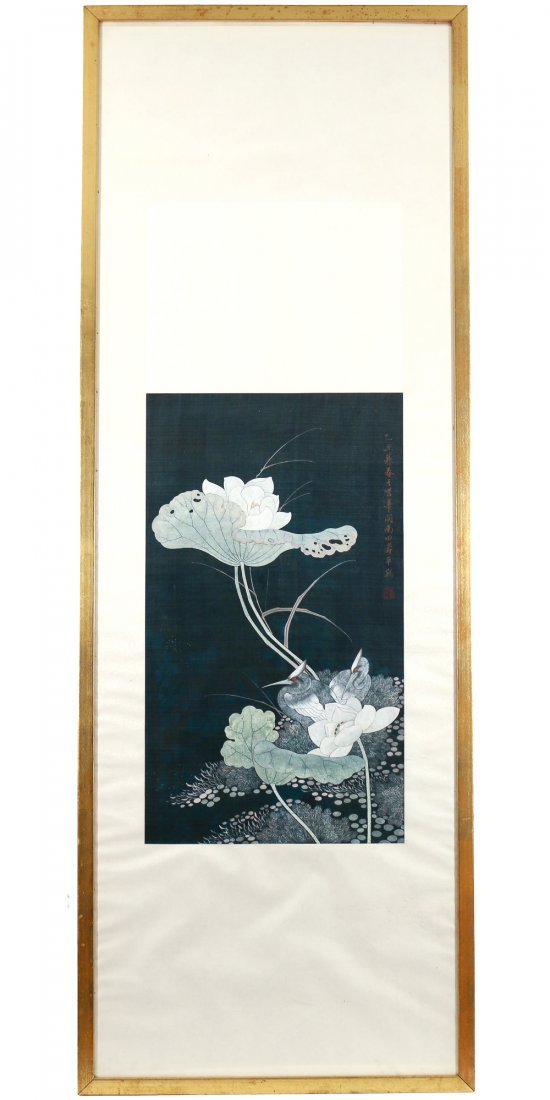 CHINESE / JAPANESE SCROLL PAINTING - 2