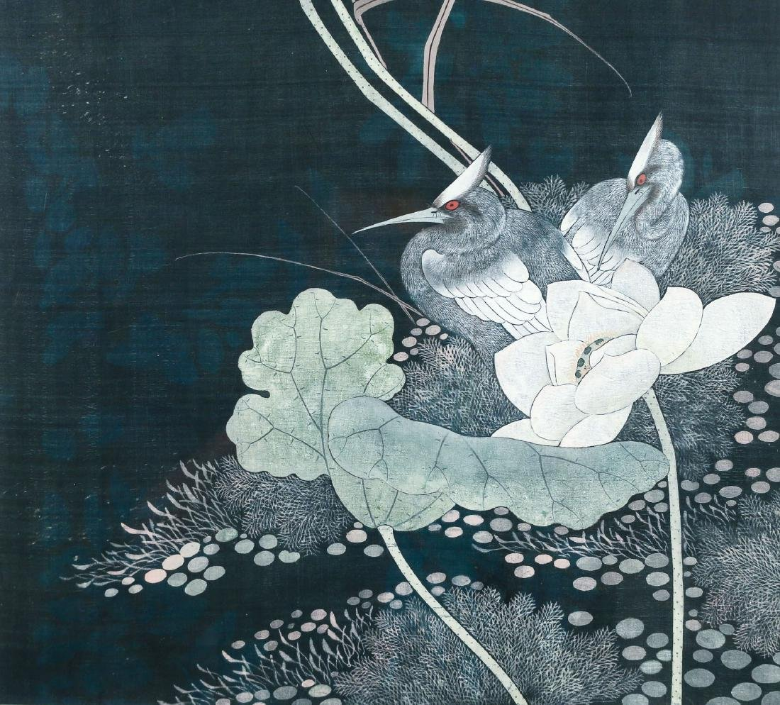 CHINESE / JAPANESE SCROLL PAINTING - 3