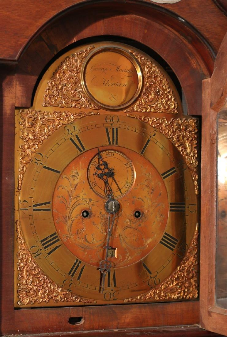 GEORGE III SCOTTISH TALL CASE CLOCK - 2