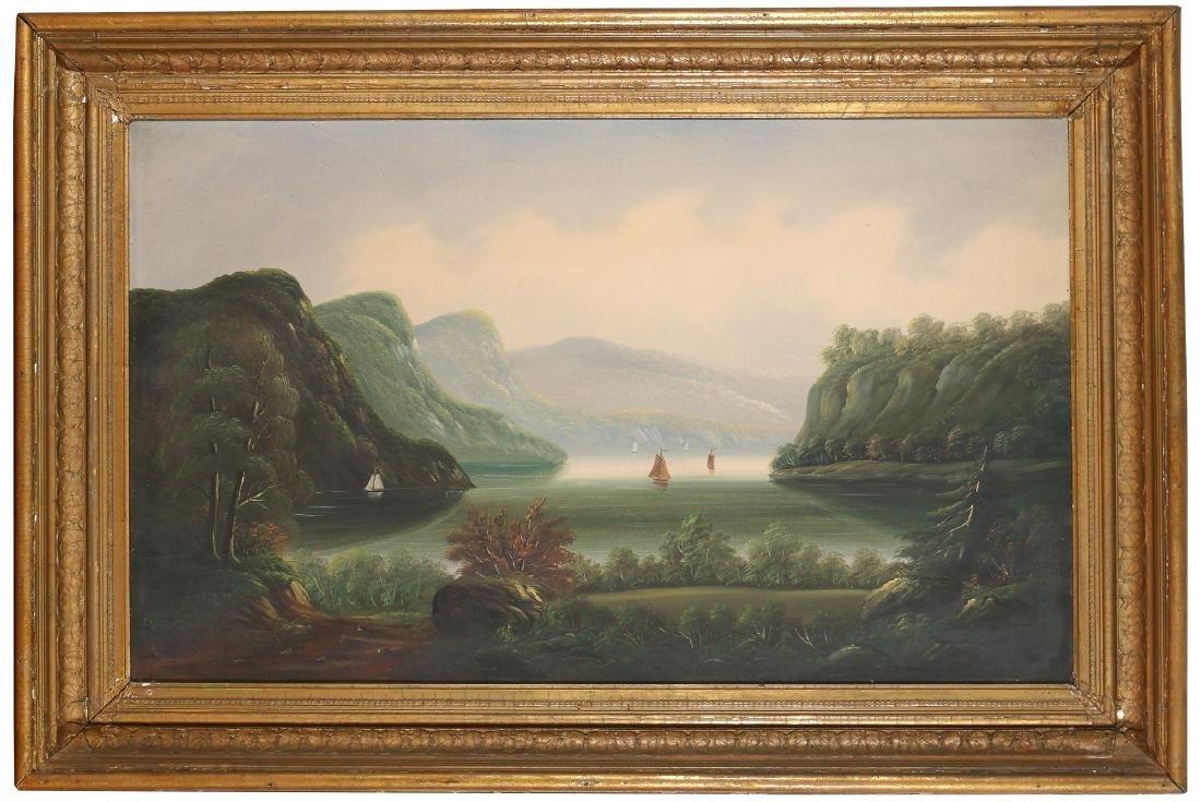 HUDSON RIVER SCHOOL LANDSCAPE, 19th Century - 2