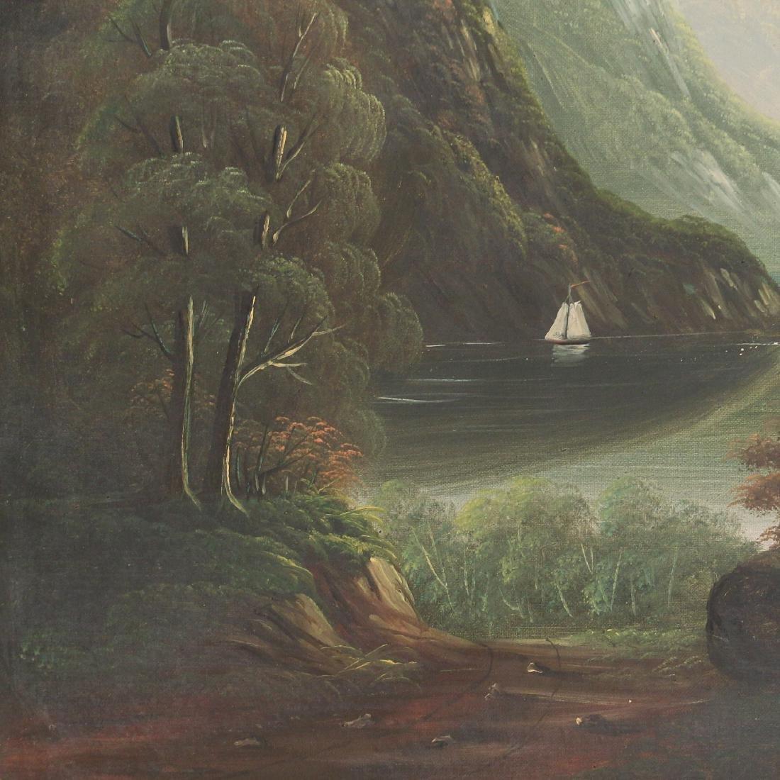 HUDSON RIVER SCHOOL LANDSCAPE, 19th Century - 4