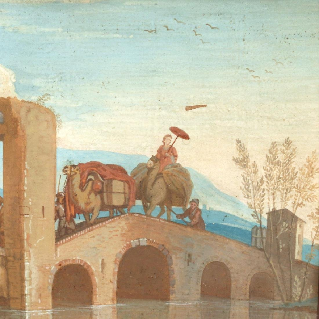 CONTINENTAL SCHOOL LANDSCAPE, 18th Century - 3