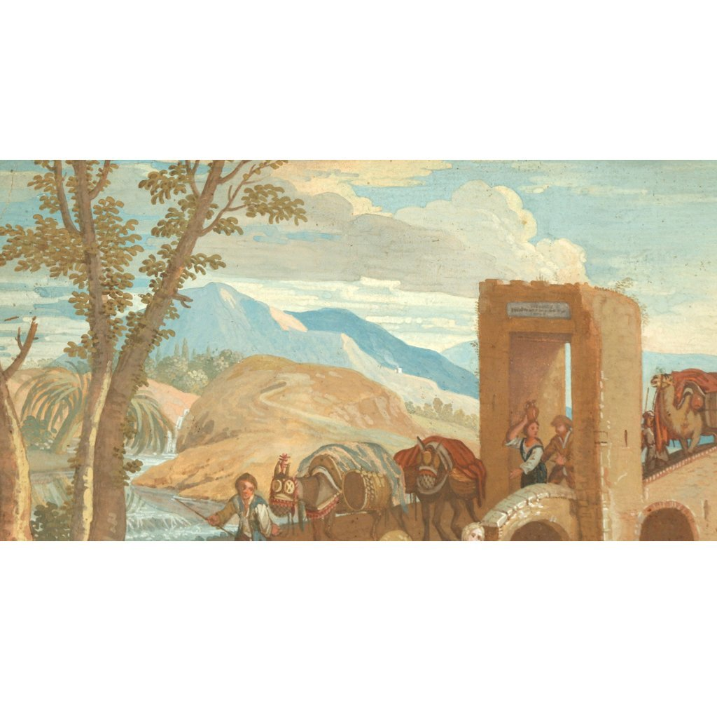 CONTINENTAL SCHOOL LANDSCAPE, 18th Century - 6