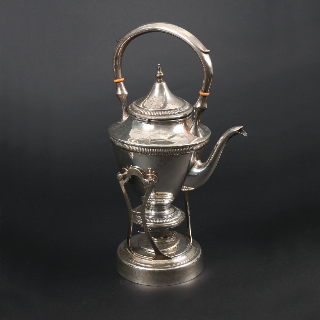 (7pc) STERLING SILVER TEA & COFFEE SERVICE - 4