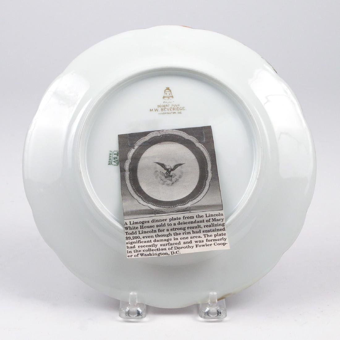 BENJAMIN HARRISON WHITE HOUSE CHINA DISH - 3