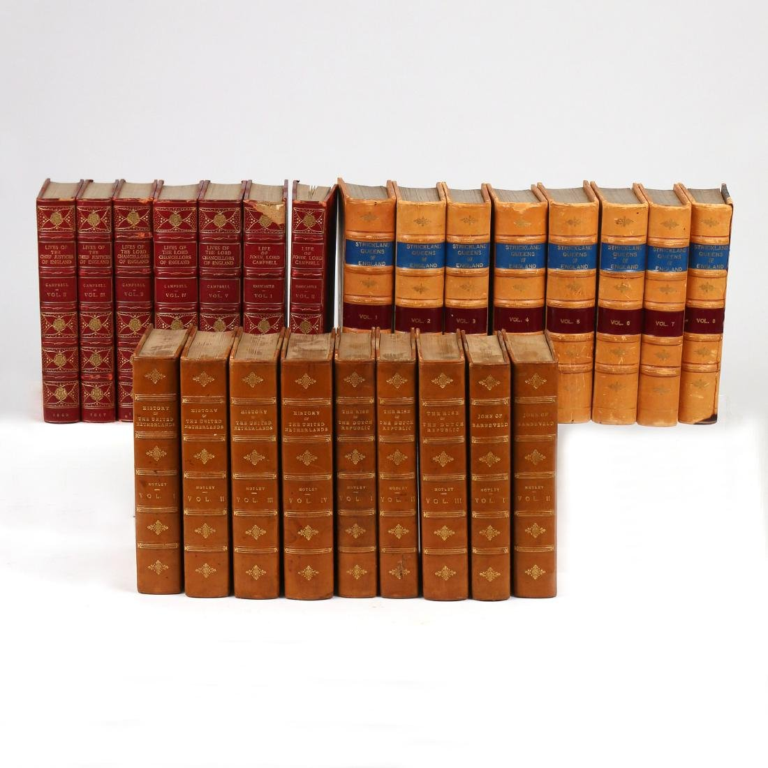 (24vol) [BINDINGS] ENGLISH & EUROPEAN HISTORY