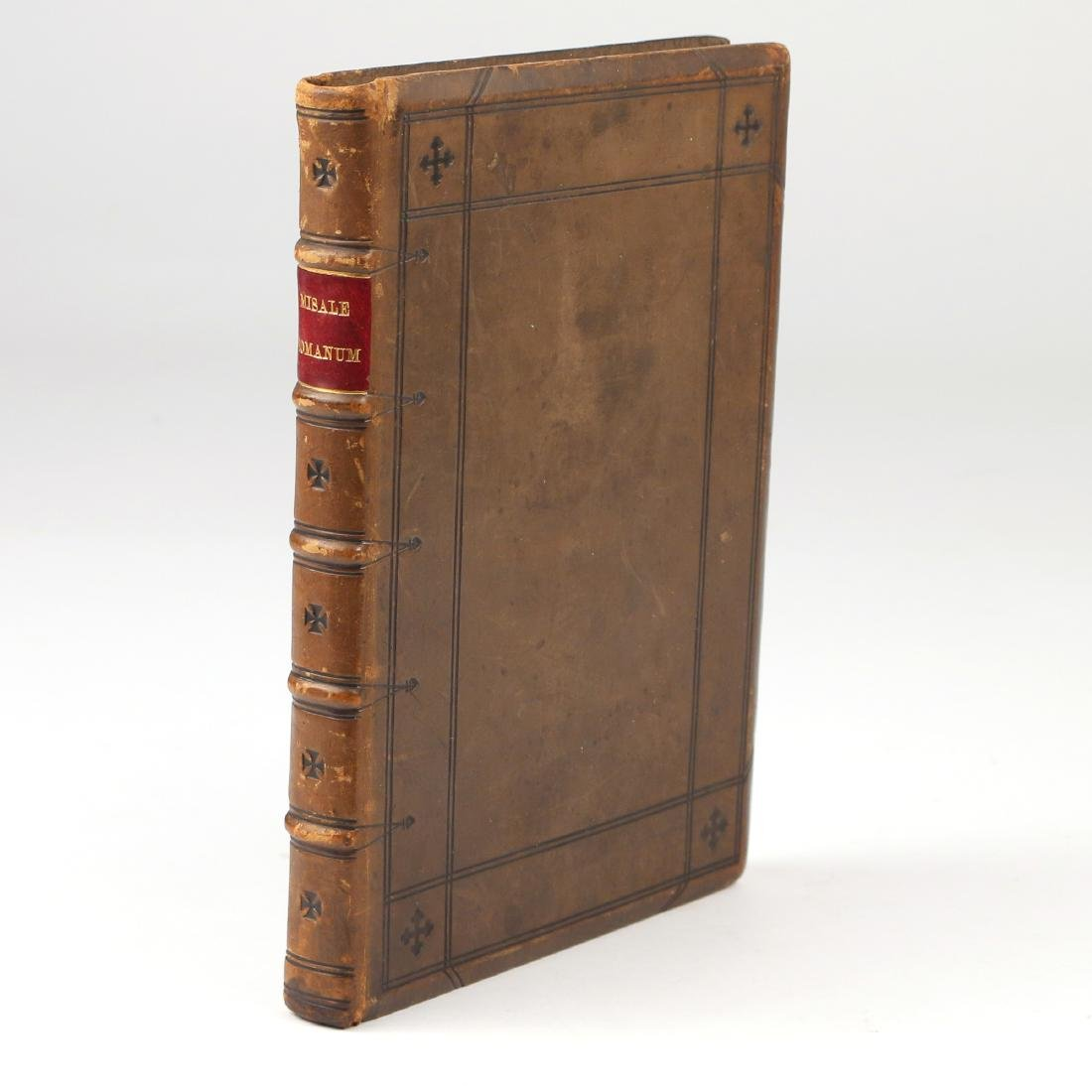 MISSALE ROMANUM LEATHER BOUND BOOK