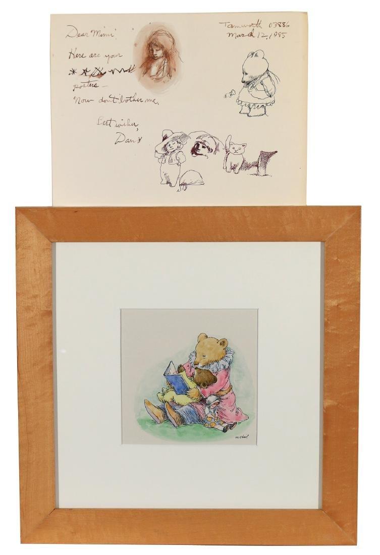 (10pc) ORIGINAL CHILDREN'S ILLUSTRATION ART - 2