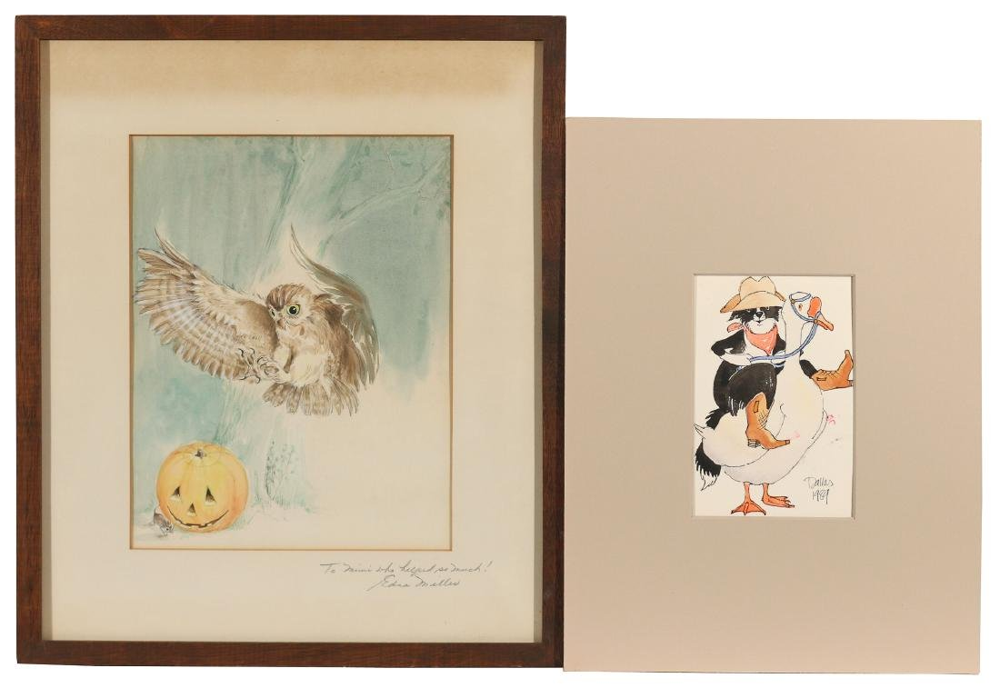 (10pc) ORIGINAL CHILDREN'S ILLUSTRATION ART - 4