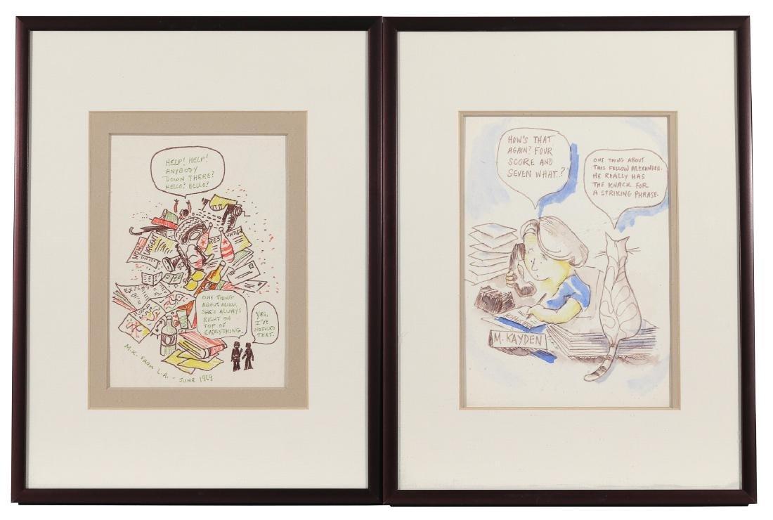 (10pc) ORIGINAL CHILDREN'S ILLUSTRATION ART - 6