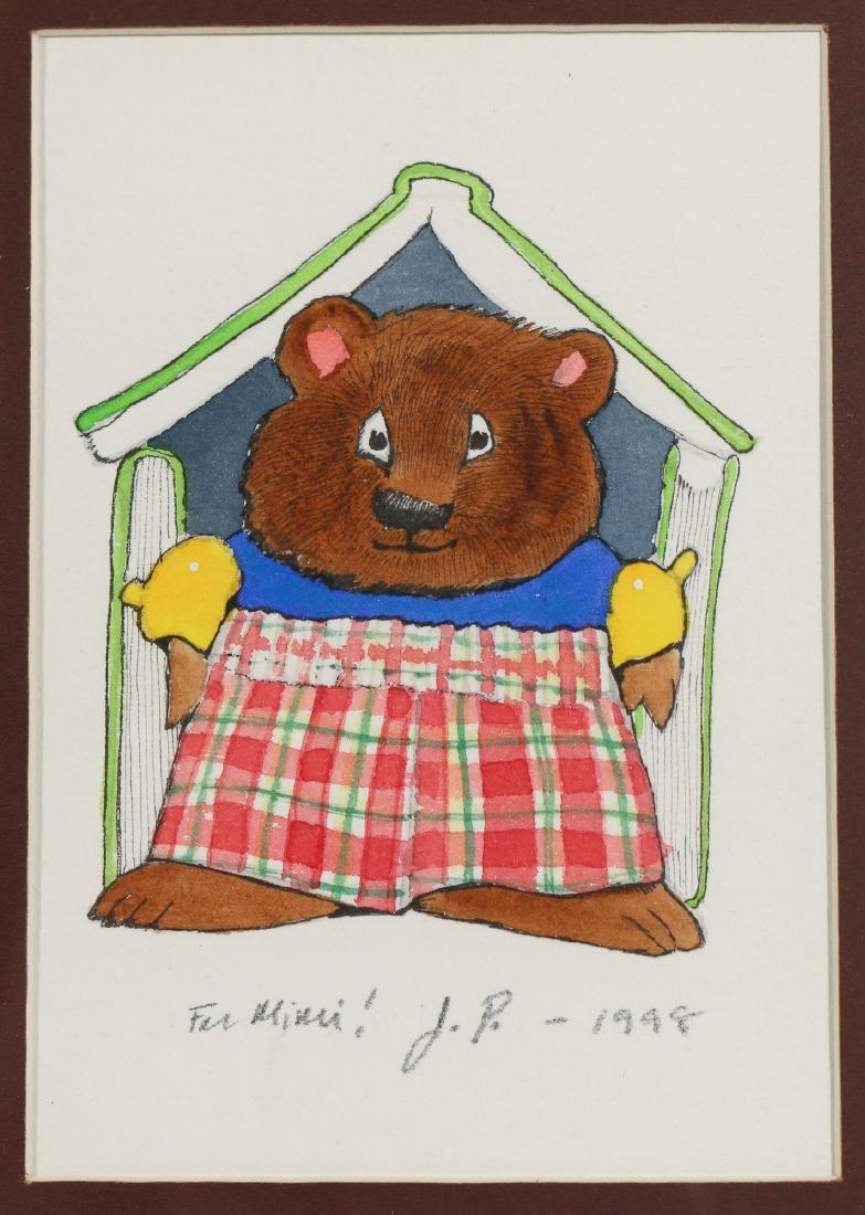 (10pc) ORIGINAL CHILDREN'S ILLUSTRATION ART - 8